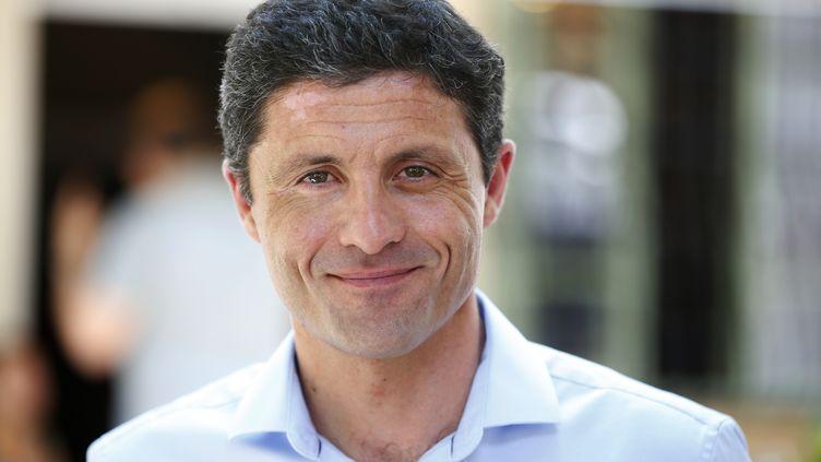 Jean-Félix Acquaviva, élu député de Haute-Corse, le 18 juin 2017. (PASCAL POCHARD-CASABIANCA / AFP)