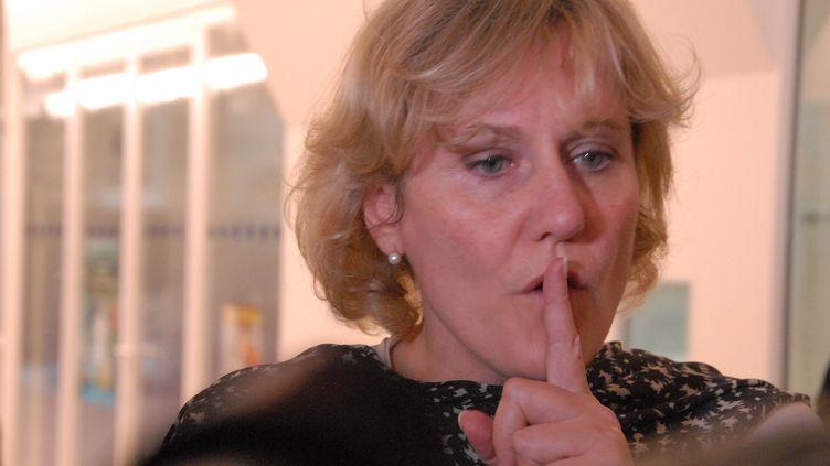 L'ancienne ministre UMP Nadine Morano, le 27 mai 2014, à Paris. (PATRICE PIERROT  / CITIZENSIDE / AFP)