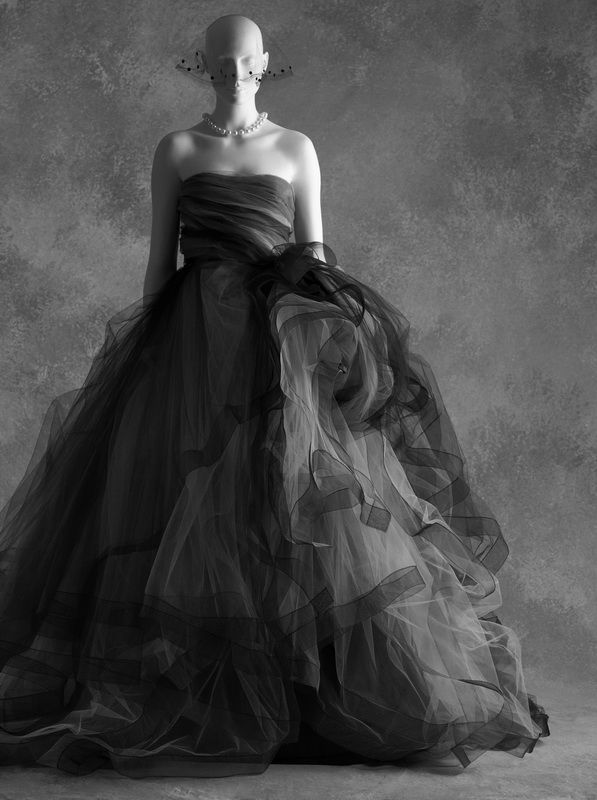 Little Black Dress : Oscar de la Renta, robe en taffetas et tulle automne-hiver 2012  (Savannah College of Art and Design)