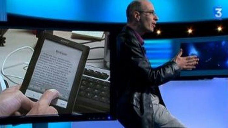 Révolution du livre numérique et témoignage de Bernard Werber  (Culturebox)