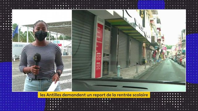 Covid-19 : les Antilles frappées de plein fouet par le virus, les autorités demandent le report de la rentrée scolaire