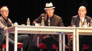 Topper Headon, Paul Simonon et Mick Jones à Paris le 12/9/13  (Pierre-Yves Grenu)