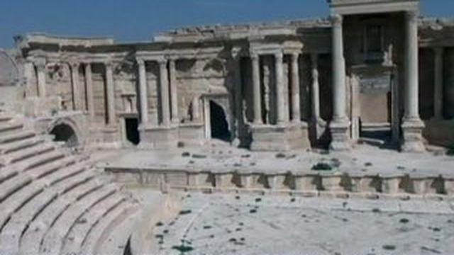 Palmyre, cité antique sous la menace djihadiste