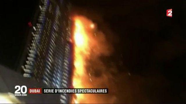 Dubaï : série d'incendies spectaculaires