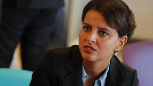 Najat Vallaud-Belkacem, le 28 août 2015 à La Rochelle (Charente-Maritime). (XAVIER LEOTY / AFP)