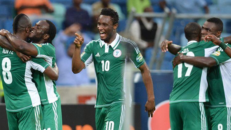 Les joueurs nigérians lors de la CAN 2013