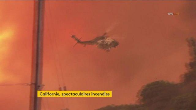 Etats-Unis : de spectaculaires incendies en Californie