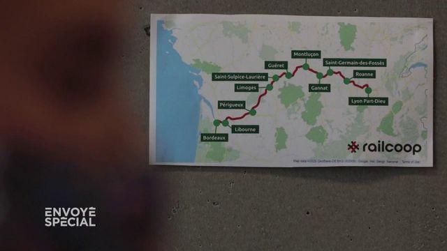 Envoyé spécial. Ils veulent faire revivre la ligne ferroviaire Bordeaux-Lyon : l'aventure Railcoop