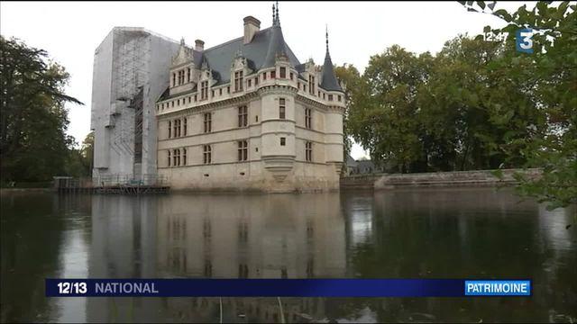 12/13 : Journal Fenêtre sur : le château d'Azay-le-Rideau