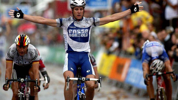 Sur la Vuelta 2003, Alesandro Petacchi avait remporté cinq étapes ! (FRANCK FIFE / AFP)