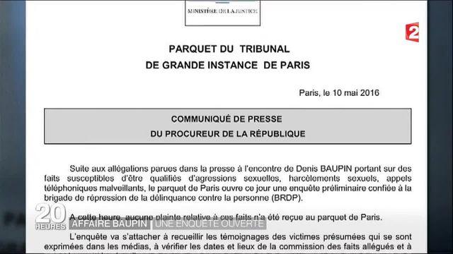 Affaire Denis Baupin : l'élu écologiste porte plainte