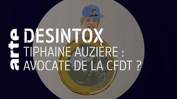 Non, Tiphaine Auzière, belle-fille d'Emmanuelle Macron, n'est pas avocate de la CFDT (ARTE/LIBÉRATION/2P2L)