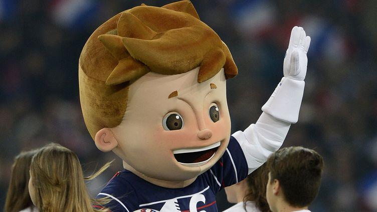 La mascotte de l'Euro 2016 Super Victor