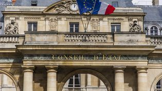 La façade du Conseil d'Etat à Paris, le 26 mars 2021. (MAXPPP)