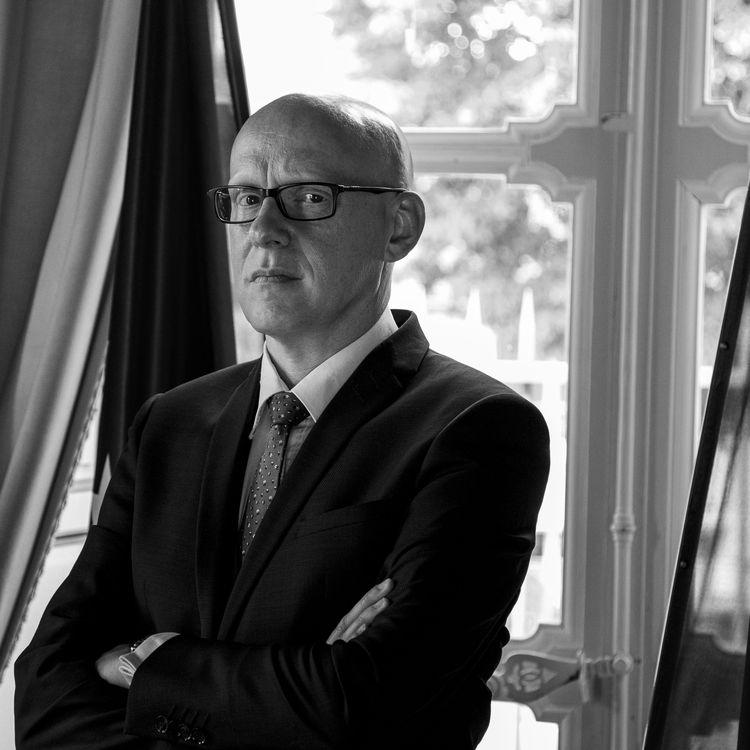 Julien Miniconi, commissaire du 10e arrondissement de Paris au moment des attentats du 13-Novembre. (DAVID FRITZ-GOEPPINGER POUR FRANCEINFO)