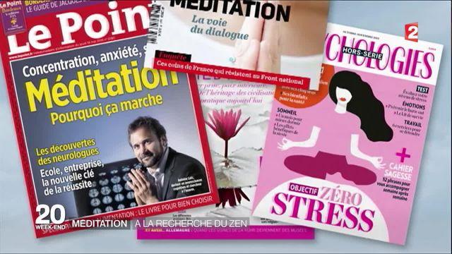 La méditation se généralise en France
