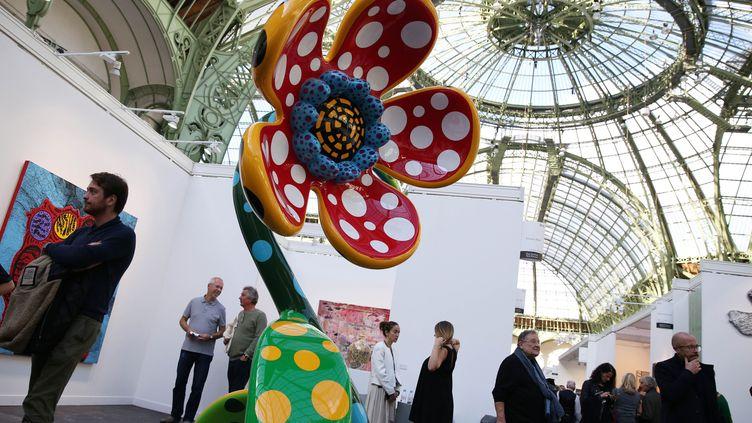 La Foire internationale d'art contemporain (FIAC) à Paris, le 17 octobre 2019 (CHINE NOUVELLE / SIPA)