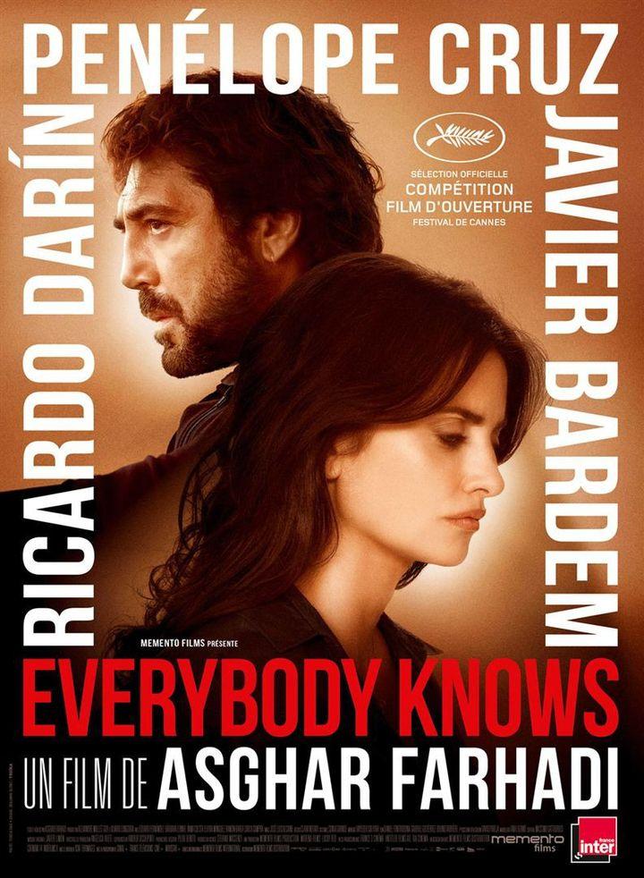 Everybody Konows : l'affiche française  (Teresa Isasi )
