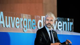Laurent Wauquiez, le président de la région Auvergne-Rhône-Alpes, le 10 février 2020. (RICHARD BRUNEL / MAXPPP)