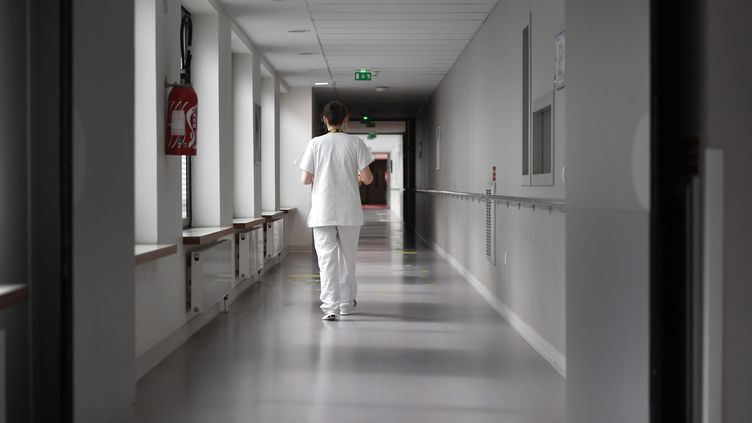 Les agents del'hôpital du Mont d'Aubussonont cumulé 11000 jours de congés maladie en 2018 (photo d'illustration). (PIERRE ROUANET / MAXPPP)
