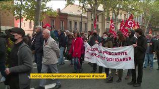Grève du 5 octobre : près de 200 manifestations pour des enjeux sociaux (FRANCEINFO)