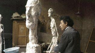 (Photo Ernst Scheidegger Archives de la Fondation Giacometti, Paris © Succession Giacometti (Fondation Giacometti + ADAGP) Paris 2018)