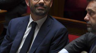 Edouard Philippe à l'Assemblée nationale, le 4 juillet 2017. (CHRISTOPHE ARCHAMBAULT / AFP)