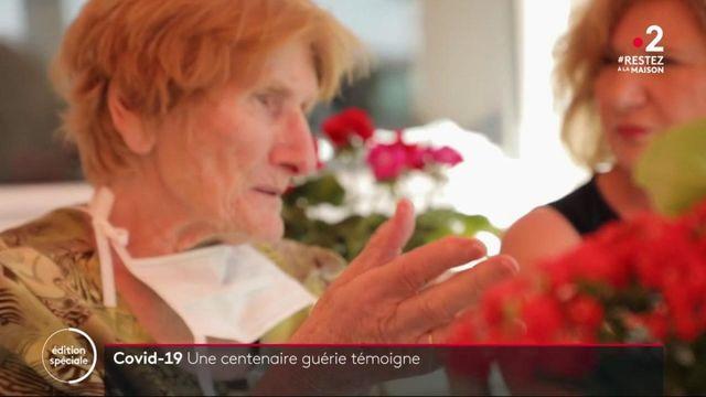 Coronavirus : ancienne résistante, une centenaire a vaincu le coronavirus