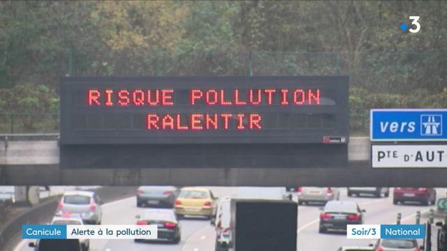 Canicule : alerte à la pollution