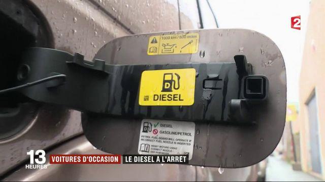 Voitures d'occasion : le diesel ne fait plus vendre