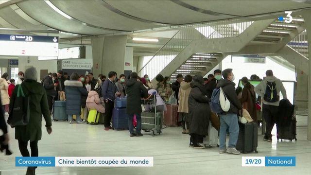 Coronavirus : Air France annule tous ses vols depuis et vers la Chine