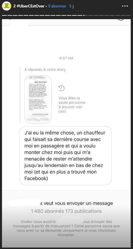 Capture d'écran d'une story d'AnnaToumazoff sur Instagram. (Anna Toumazoff / INSTAGRAM)