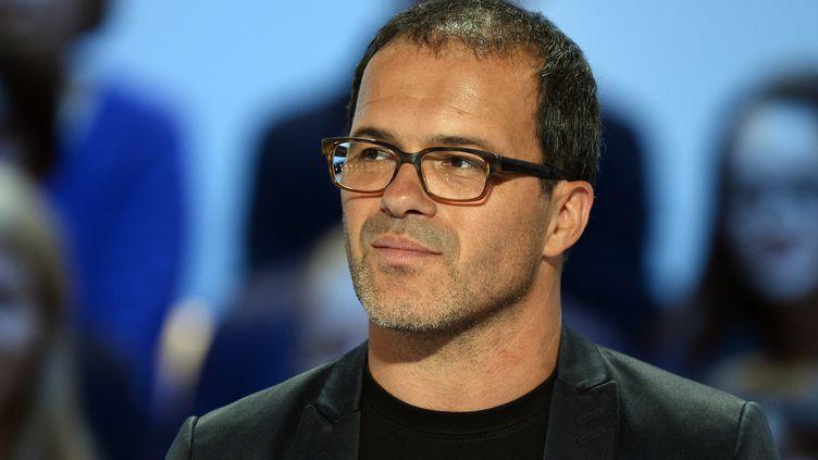 Luc Barruet, directeur et fondateur du festival Solidays, le 25 juin 2015. (BERTRAND GUAY / AFP)