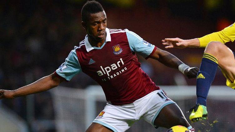 Le Malien Modibo Maïga sous le maillot de West Ham
