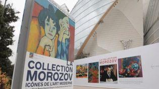 La collection Morozov sera exposée à partir du mercredi 22 septembre à la Fondation Louis Vuitton, à Paris. Elle comprend plus de 200 chefs-d'œuvre de Cézanne, Van Gogh, Matisse ou encore Picasso. Ces toiles ont été, pendant des années, stockées et oubliées dans des caves en Russie. (FRANCE 2)