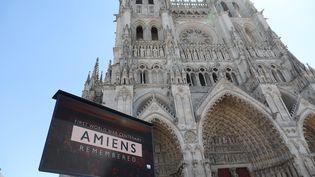 Amiens célèbre le centenaire de la bataille d'Amiens, mercredi 8 août 2018. (DOMINIQUE TOUCHART / MAXPPP)