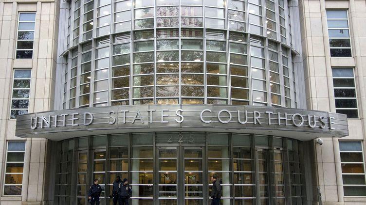 """Le tribunal de New York où """"El Chapo"""" est jugé à partir du 5 novembre 2018. (DON EMMERT / AFP)"""
