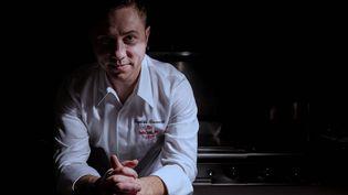 """Baptiste Renouard, qui tient le restaurant étoilé """"Ochre"""", à Rueil-Malmaison. (OCHRE)"""
