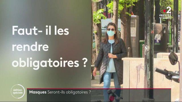 Déconfinement : vers un port du masque obligatoire dans les transports publics ?