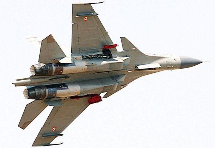Un Su30 de l'armée de l'air indienne en 2015 (TOI Photographer / The Times of India)