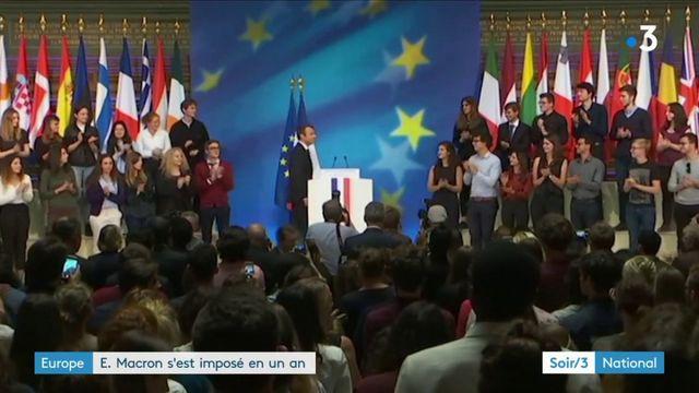 Europe : Macron a imposé son style et remis la France dans une position forte