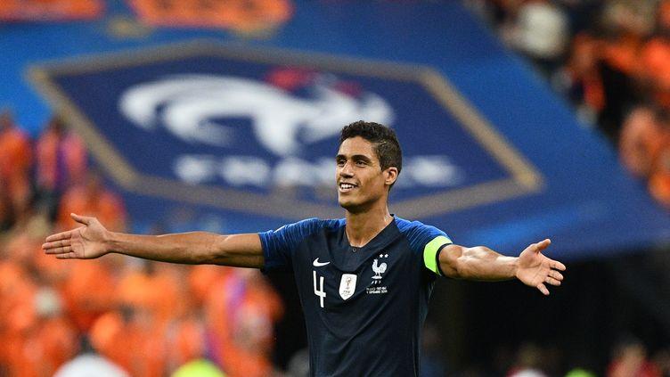 La joie de Rafael Varane (FRANCK FIFE / AFP)