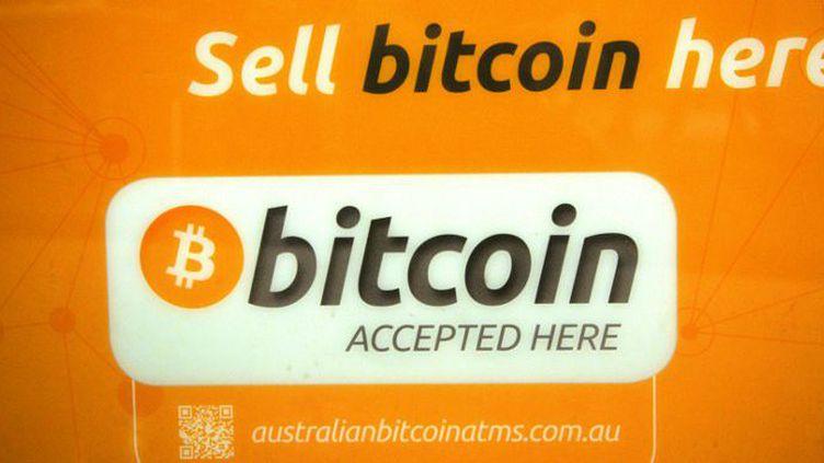 Sur un distributeur de bitcoins à Sydney, en Australie (mai 2013). (Peter PARKS / AFP)