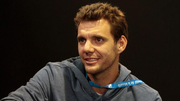 L'ancien joueur de tennis Paul-Henri Mathieu, en septembre 2019. (DOMINIQUE GUTEKUNST / MAXPPP)
