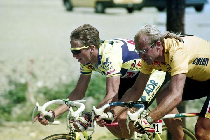 Éric Piolle se souvient de la bataille entre Laurent Fignon et Greg Lemond, en 1989 (- / AFP)