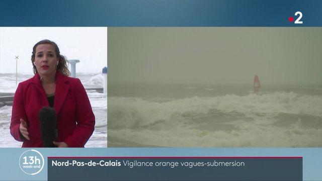 Pas-de-Calais : vigilance orange vagues-submersion