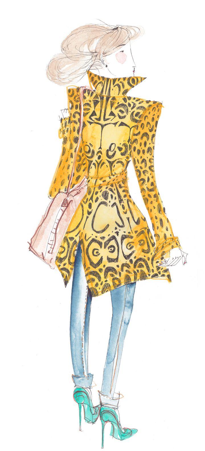 Leo Greenfield croque la fashion à Paris en 2013  (Leo Greenfield)