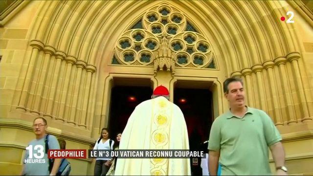 Pédophilie : le numéro 3 du Vatican reconnu coupable