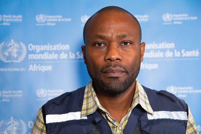 Dr Michel Yao, responsable des opérations d'urgence de l'OMS pour l'Afrique. (OMS AFRO)