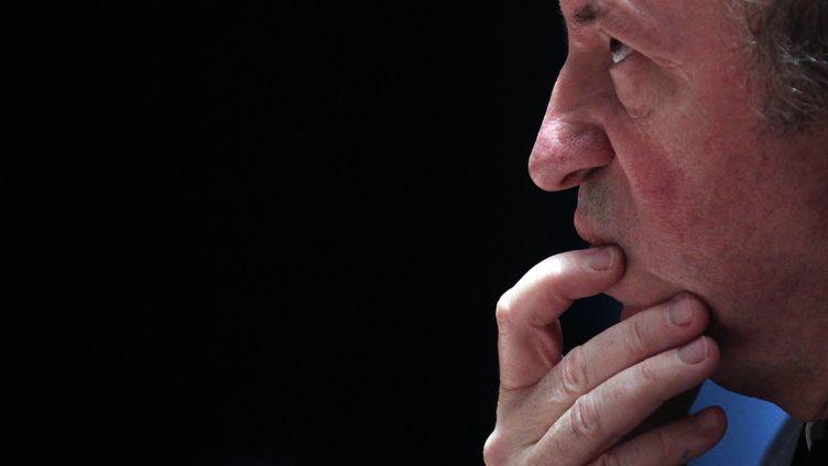Jean-Noël Guérini au conseil général des Bouches-du-Rhône, à Marseille, le 31 mars 2011. (JEAN-PAUL PELISSIER / REUTERS)